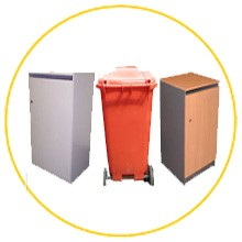 secure lockable bins